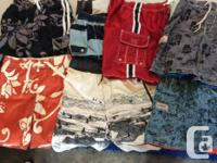 3 PAIR STILL AVAILABLE. Great stylish swim shorts for