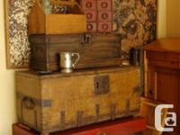 Garage Full of Restored Country Antique Furniture.....