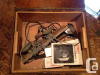 Garcia Electro Sonic Recorder Model #9500 Comes with