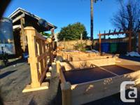 Quality built, attention to detail, 100% cedar Garden