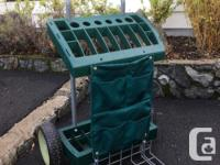 Wheeled garden tool cart in the excellent condition.