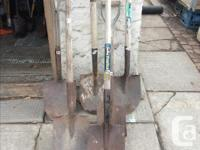 I have a good variety of garden tools for sale. Every