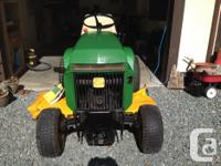 1980 John Deere 317 in good condition. I'm the 2nd