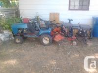 dead or alive garden tractors tillers and mowers cash
