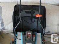 Environmentally Friendly Rechargeable Reel Mower 25 V