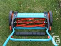 Gardena 6000 SM Cordless Hand Reel Push Mower Excellent