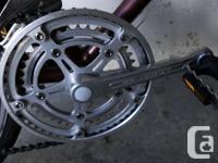 Gardin road bike vintage 1983 original light frame and