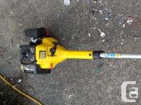 GAS POWERED WEED EATER in great condition, works very