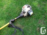 This is a good running used Ryobi straight shaft SS30