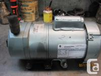 Compressor has just been rebuilt with new parts and not