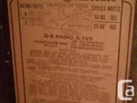 10 Tube Radio -Description in pictures attached. Fun
