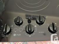 """GE Profile 36"""" Cooktop with manual. New March, 2013."""