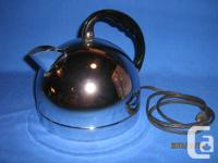 GE classic round kettle from the 50's. Model K43C, made