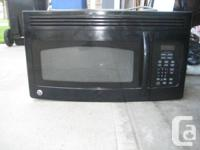 GE Over the Assortment Black Microwave - functions