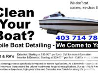 Boat outlining service by experienced boat contractor.