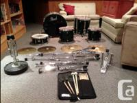 Pearl Online forum Collection drum set for sale