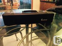 This is a gently used Gemeinhardt 22SP C Flute with