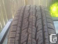 full set of General tires 225/75R14 115/112S M+S almost