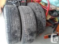 """17"""" tires for sale General Grabber HTS tires for sale."""