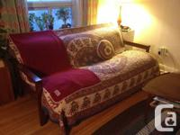 Comfy Futon for sale - acquired just 2 years back.