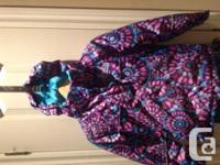 Gently used Girls XMTN Snow Suit Size 7 Purple