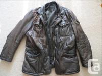 Originally paid $700 for this German LAMB leather