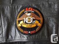 Genuine Harley Davidson leather jacket (size large)
