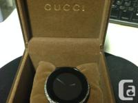 I'm offering my custom-made I-Gucci watch acquired in
