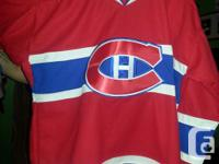 Dimension 56 (xxl) New size 56 official montreal Subban