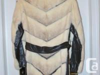 Modern styling Knee Length Coat, original owner