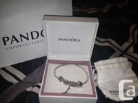 Offering an exceptional condition silver Pandora
