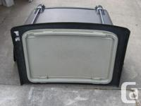 1989 to1998 Black - 2 Door HARD TOP for Tracker-