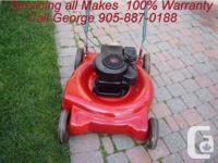 "George's On-Site Lawnmower Repair work  ""Residence"
