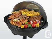 GEORGE FOREMEN INDOOR OUTDOOR BBQ GRILL GREAT FOR
