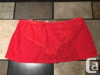 George Women�s Red Bathing Suit Bottoms For Sale -