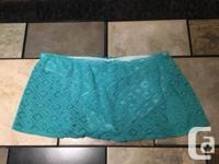 George Women�s Turquoise Bathing Suit Bottoms For Sale