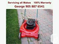"George's Mobile Lawnmower Repair  ""Home Service"" Now"