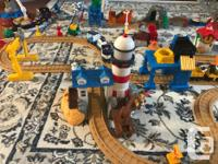 Fisher price Geotrax train set. Multiple sets combined,