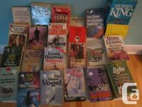 I have numerous German language fiction as well as
