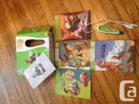 Leapfrog tag reading system with 3 books and 1 activity