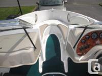18 feet, 1998 Four Winns Horizon boat for sale. Volvo