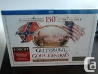 Brand new: Gettysburg / Gods and Generals (Limited