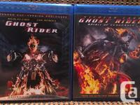 Ghost Rider: Extended Cut (Blu-ray, 2007) - Disc Is