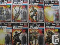 GI Joe 25th Anniversary Activity Amounts.  Cost: $12.00