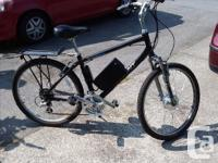 21 Speed Giant ebike, 18 inch frame, 36 volt 350 watt