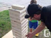 Titan Jenga! Great for the home, trailer or any sort of