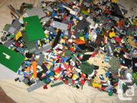 Giant lot of lego.Over 40lb .Fills two Rubbermaid totes