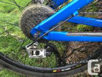 Giant Reign 1 mountain bike. Its a 2010 but is barely