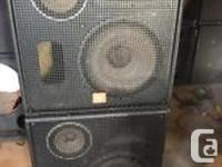 """MADE IN Northridge, California 15"""" low frequency"""