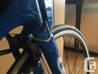 Giant Trinity Large Triathlon (TT) bike Used for one